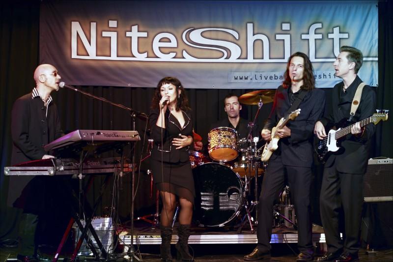 Nightshift - die Party Coverband aus Frankfurt