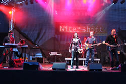 Niteshift Live on Stage