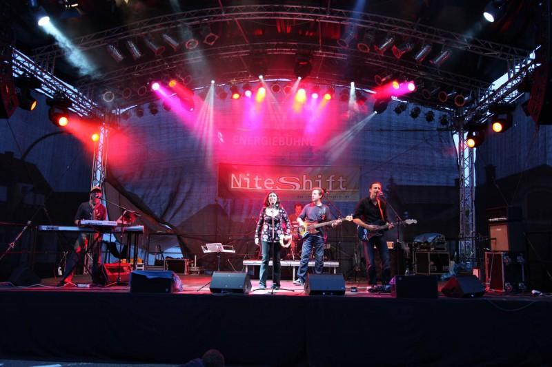 Livemusic mit der Partyband Niteshift